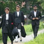 Lawyers at Supreme Court. Photo: Anil Shakya