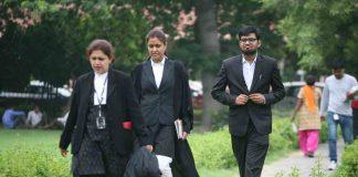 Lawyers at Supreme Court. Photo: Anil Shakya