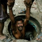 Manual scavengers, most of them from the Dalit community, work in the most inhuman conditions