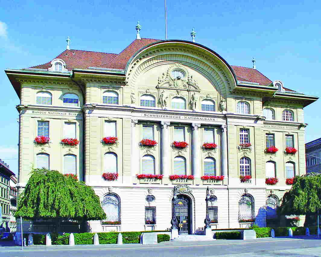 Swiss National Bank, Switzerland's Central Bank. Photo: wikimedia.org