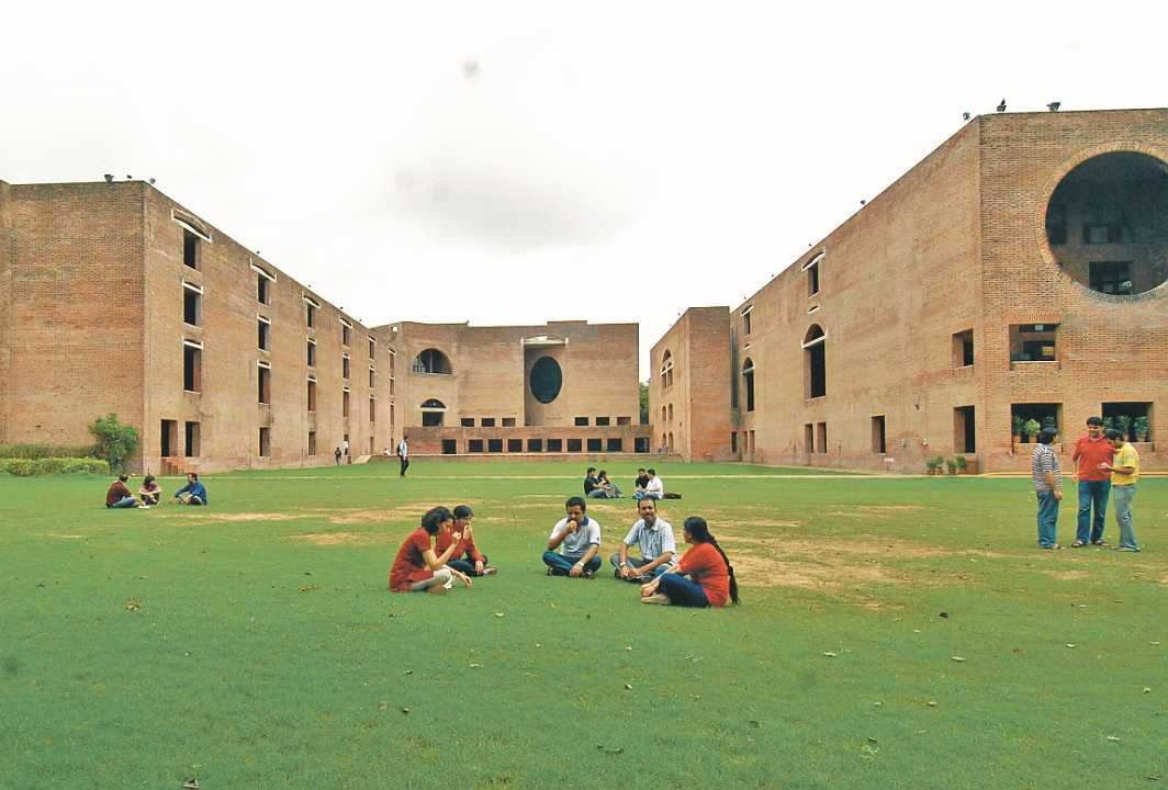 """The IIM Ahmedabad campus where students have raised the issue of granting """"diplomas"""" instead of """"degrees"""" from time to time. Photo: insideiima"""