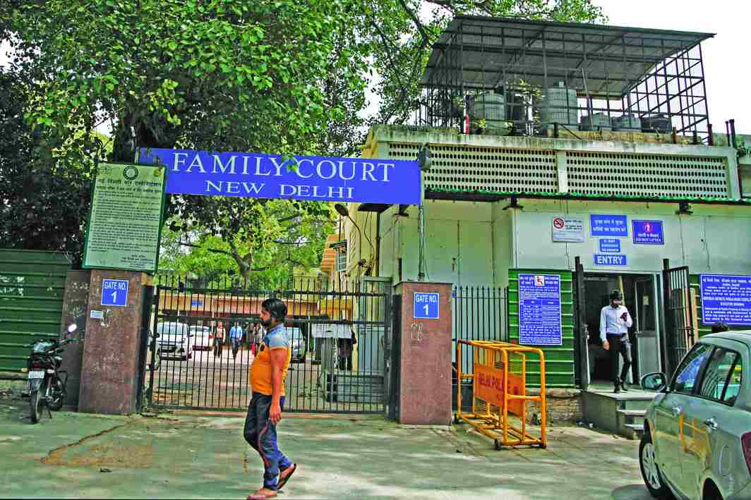 The family court in Delhi also sees numerous false complaints. Photo: Anil Shakya