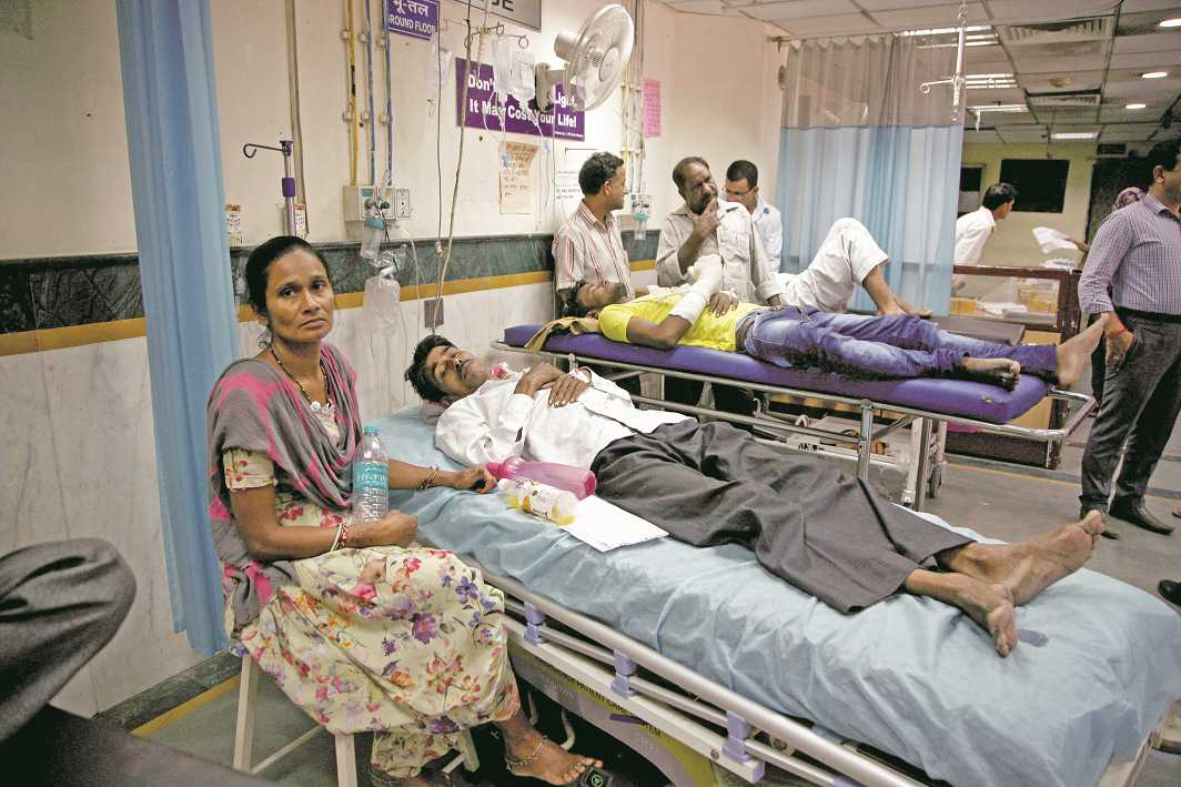 The government has to invest more in modern healthcare facilities. Photo: Anil Shakya