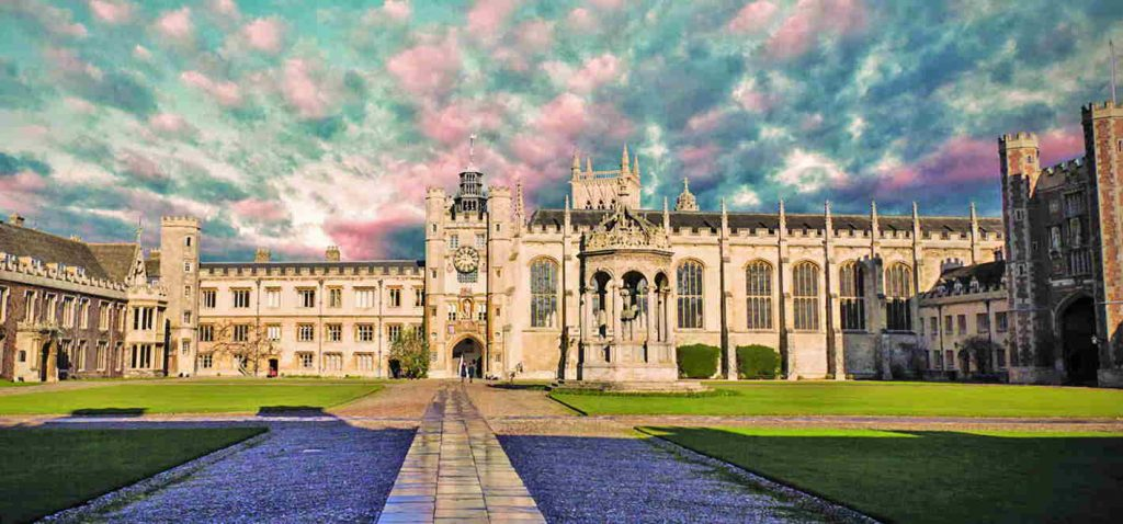 Trinity College, Cambridge, where Rabinder Singh went to study law. Photo: trin.cam.ac.uk