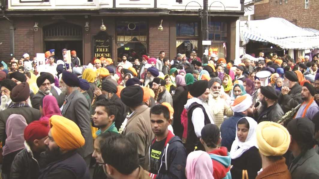 Baisakhi festivities in Southhall, London