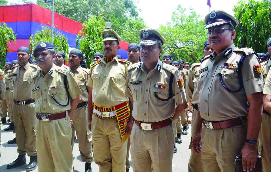 Khaki defines police personnel. Photo: UNI
