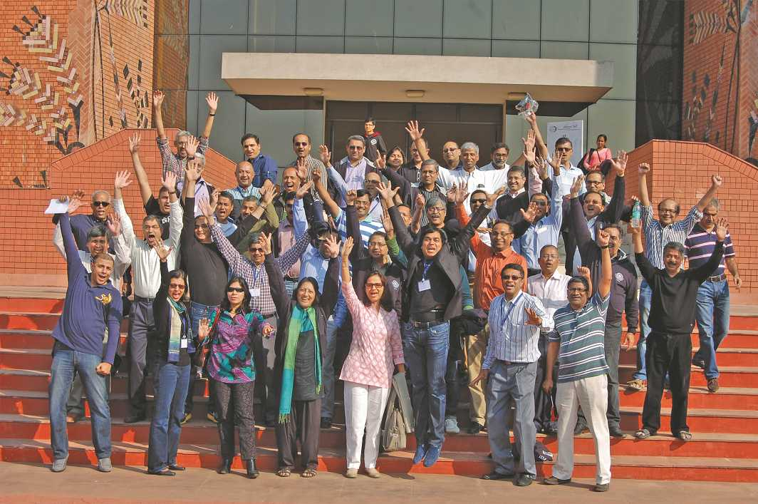Students of IIM Calcutta that was among the first IIMs to be set up in 1961. Photo: iimcal.ac.in