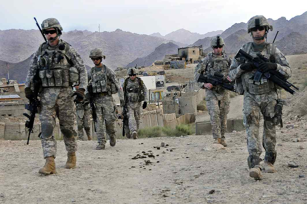 US soldiers in Afghanistan. Photo: Sgt. William Tremblay