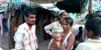 Rohingyas in New Delhi. Photo: Anil Shakya