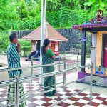 Devotees throng the shrine in Kerala hoping for a positive verdict