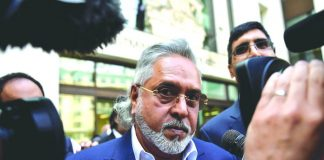 Vijay Mallya at the Westminster Magistrates' Court in London. Photo: UNI