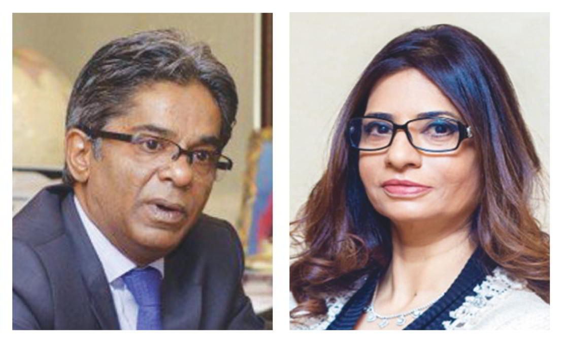 Shivani Saxena and her husband Rajiv Saxena are prominent figures in Dubai's ultra-rich circles