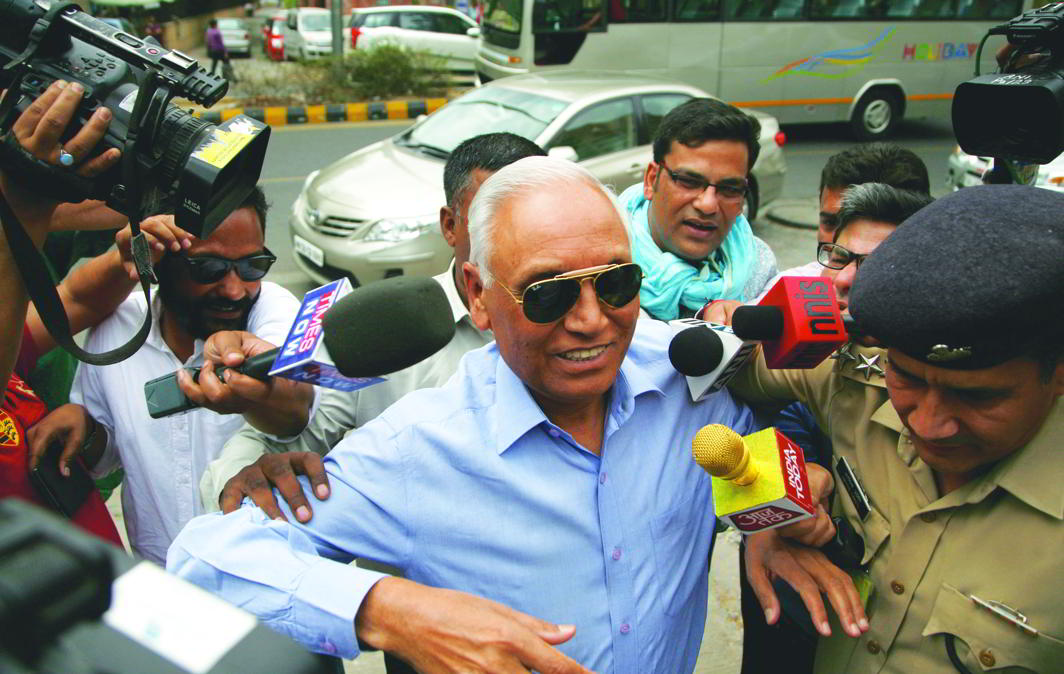 In December 2016, the CBI arrested former Air Chief SP Tyagi and two others in the Rs 3,600 crore AgustaWestland chopper case. Photo: Anil Shakya