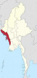 Rakhine state in Myanmar. Photo: Wikipedia