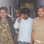 Rakesh Ranjan Yadav alias Rocky Yadav (centre) will be sentenced on September 6 in a road rage case. Photo: UNI