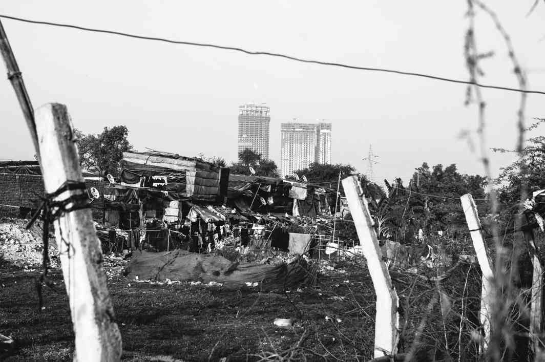 A Rohingya settlement in Delhi. Photo: Javed Sultan