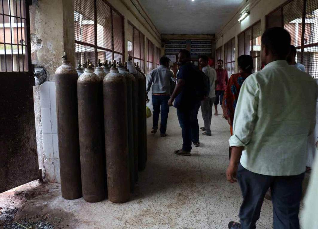 Children die at Indian hospital
