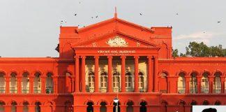Karnataka High Court and (inset) Justice Jayant Patel. Photo: Muhammad Mahdi Karim