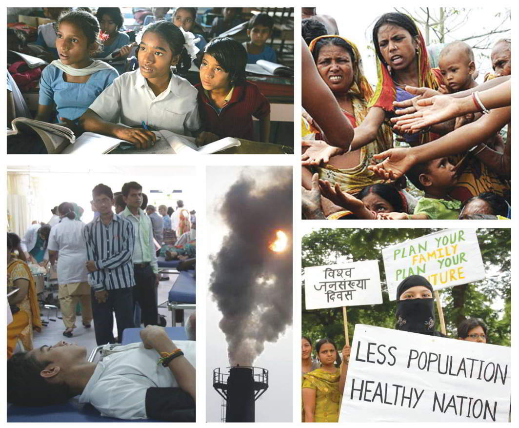 Seventy years after Independence, the country is still grappling with problems of illiteracy, hunger, protest, pollution and insufficient healthcare