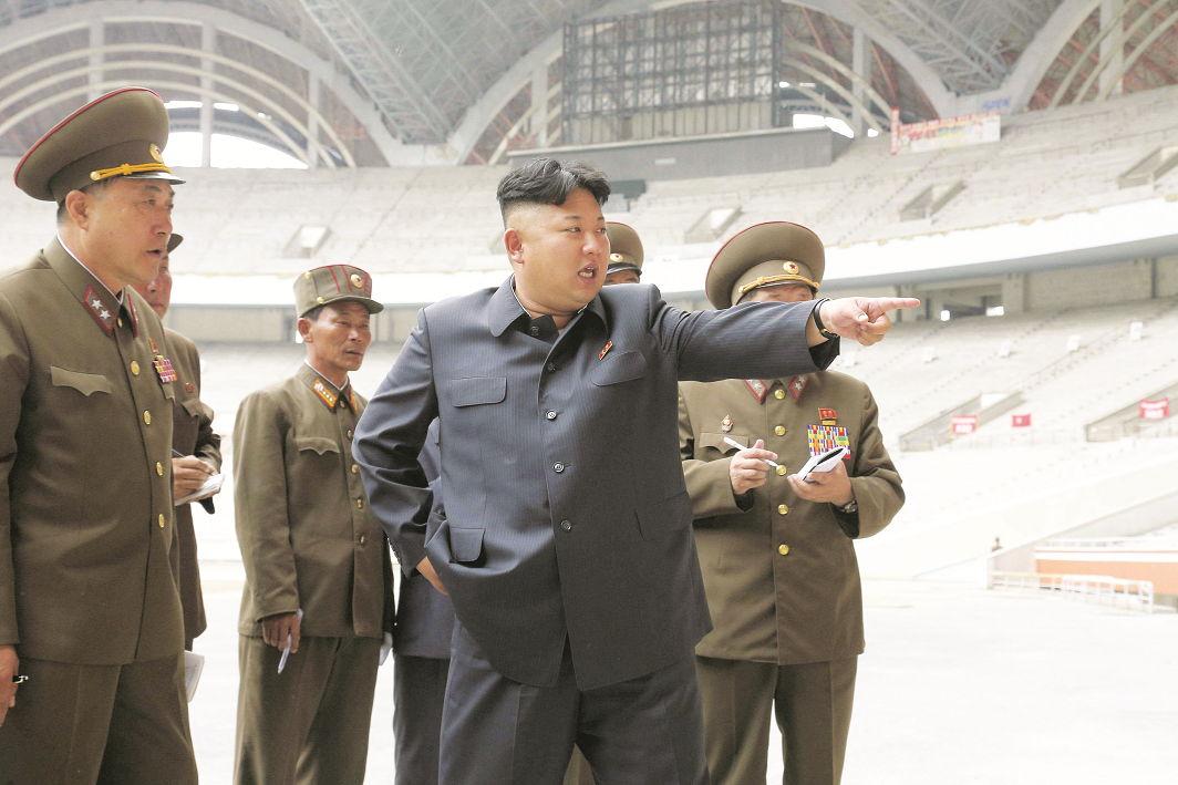 North Korean leader Kim Jong-un. Photo: UNI