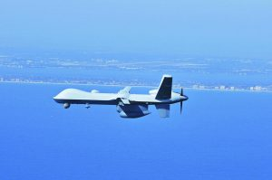 A Guardian drone enhances India's naval surveillance