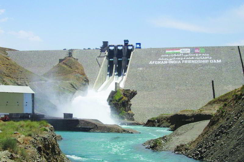 Salma dam in Afghanistan built with help from India