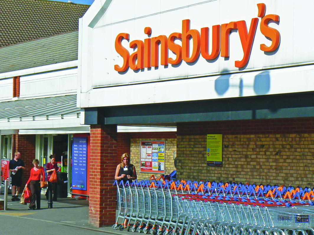 A Sainsbury's outlet that was supplied by the 2 Sisters West Bromwich plant