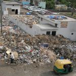 Above: A heap of garbage piled up in Geeta Colony, East Delhi (file picture). Photo: Anil Shakya