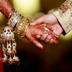 A representational picture of a Hindu marriage