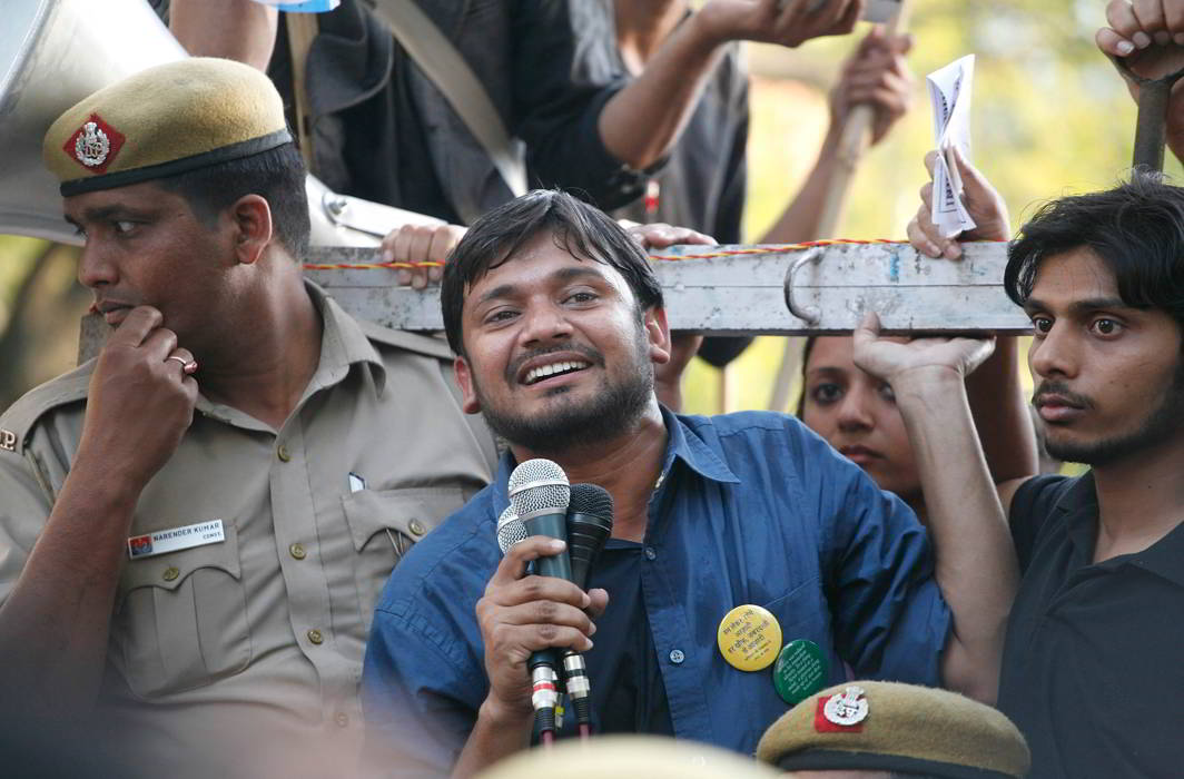 Former JNUSU president and student leader Kanhaiya Kumar and others were facing disciplinary action by the university administration