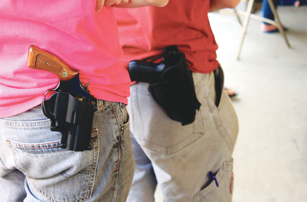 Gun laws in the US are so weak you know they were drafted by the gun industry. Photo: Wikipedia