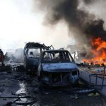 Bombings at Mogadishu has claimed several lives