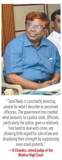 Cartoonist's Arrest in Tamil Nadu: A Police State?