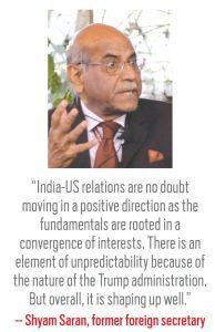 Shyam Saran, Former foreign secretary