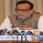 Hasmukh Adhia, who has been promoted as finance secretary