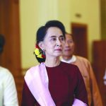 Suu Kyi's stilted response to the tragedy has hit her image. Photo: UNI