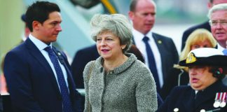 Rocked by Brexit and scandal, Theresa May's government is on the brink of collapse. Photo: UNI