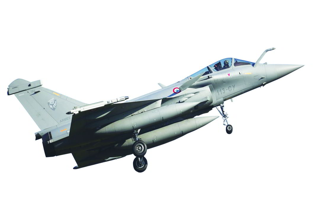 The French-made fighter aircraft Rafale