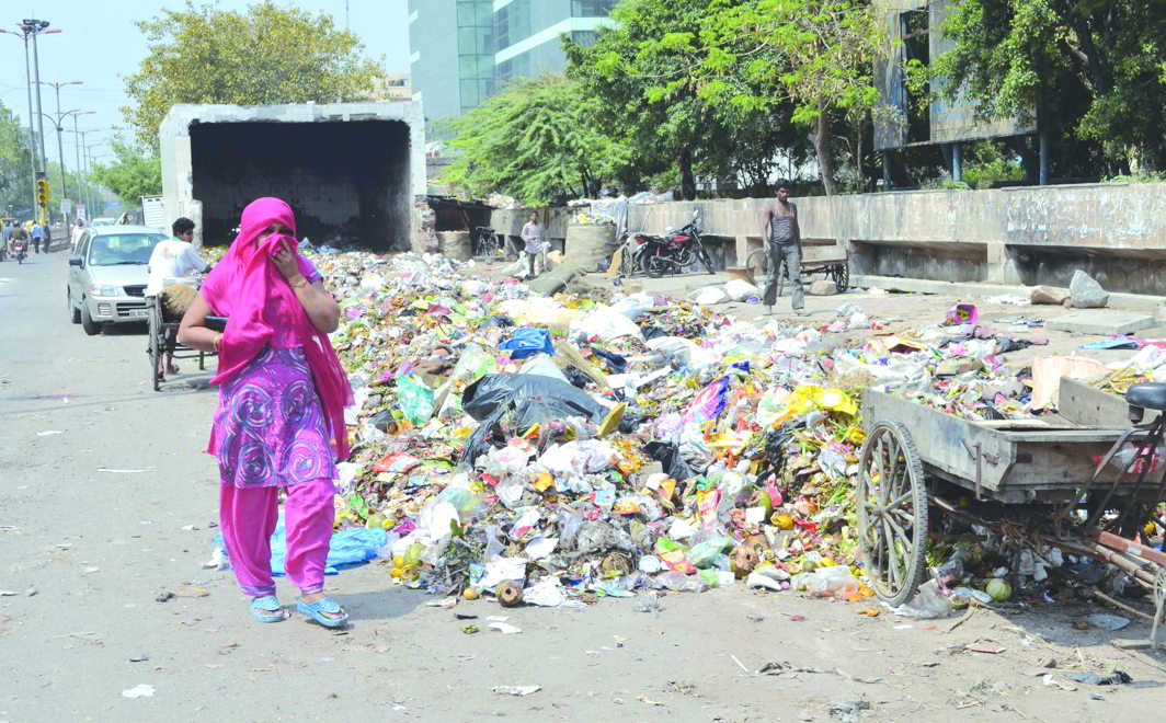Garbage management is a major crisis in Delhi