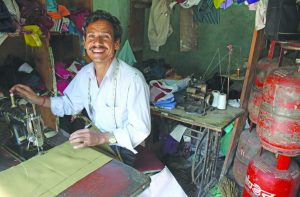 A tailoring unit. Small and medium businesses were badly hit after GST's launch. Photo: Anil Shakya