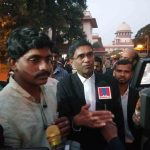 Hadiya's lawyer speaking to media on November 27. Photo: Anil Shakya