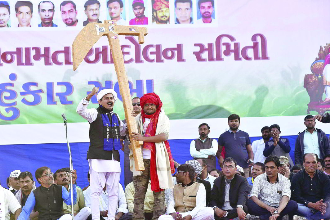 Congress, Hardik Patel deceiving each other on Patel reservation: Arun Jaitley