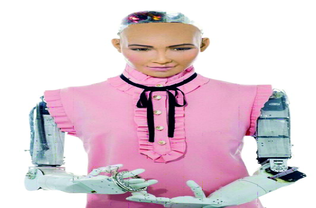 Sophia is the world's first robot citizen in Saudi Arabia