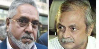 Vijay Mallya stays untouched, but his former employee A Raghunathan (right) has been jailed for bounced cheques worth Rs 22.5 crore