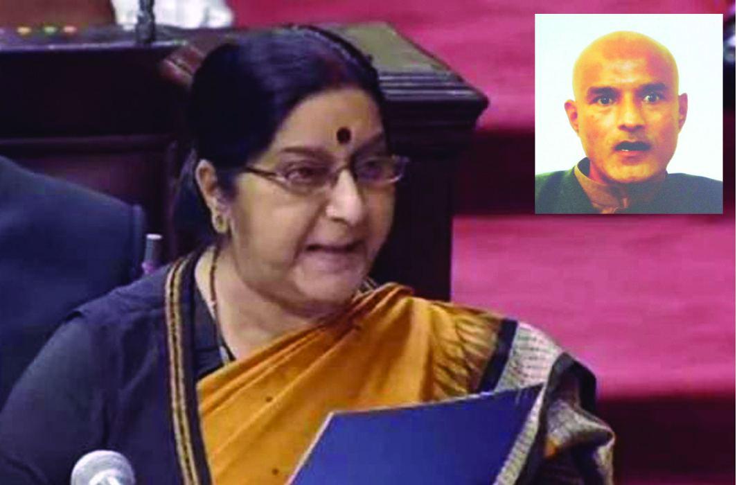 Ill-treatment of Jadhav's family in Pak: Swaraj says India will take this to the ICJ