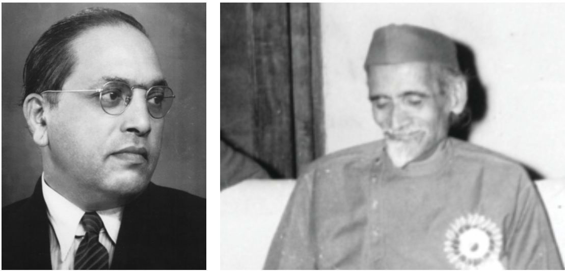 Founding Fathers BR Ambedkar and HV Kamath (far right) prized pluralism over majoritarianism, even in the matter of religion, in the Constituent Assembly debates