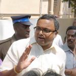 Karti Chidambaram(file picture)/Photo: UNI