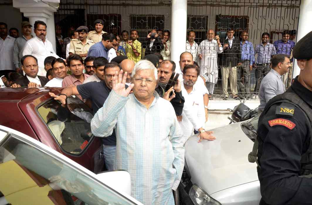 Lalu Prasad Yadav (file picture). Photo: UNI