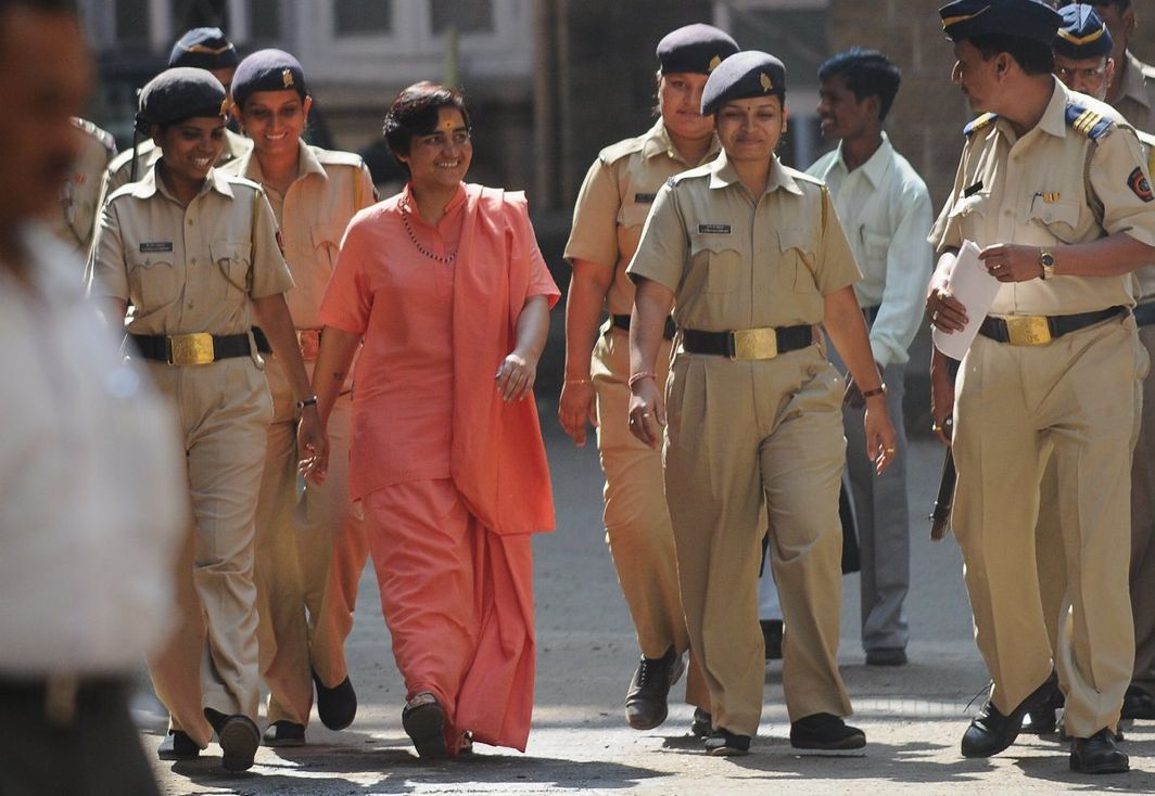 Pragya Singh Thakur will now face less stringent charges in the 2008 Malegaon blast case