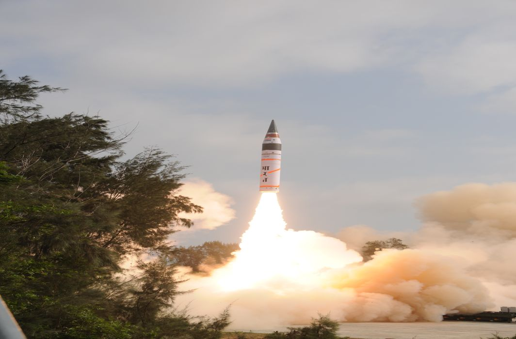 India Successfully Test-Fires Nuclear-Capable ICBM Agni-V With Range Over 5000 Km